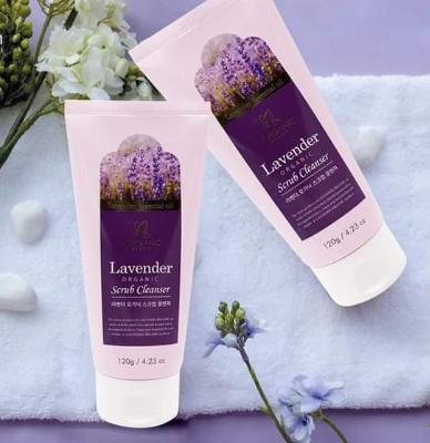 Tẩy tế bào da chết Lavender Organic